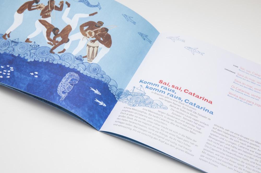 Beispiel aus dem Capoeira Heft